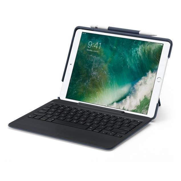 """Logitech Slim Combo med aftageligt tastatur til 10,5"""" iPad Pro"""