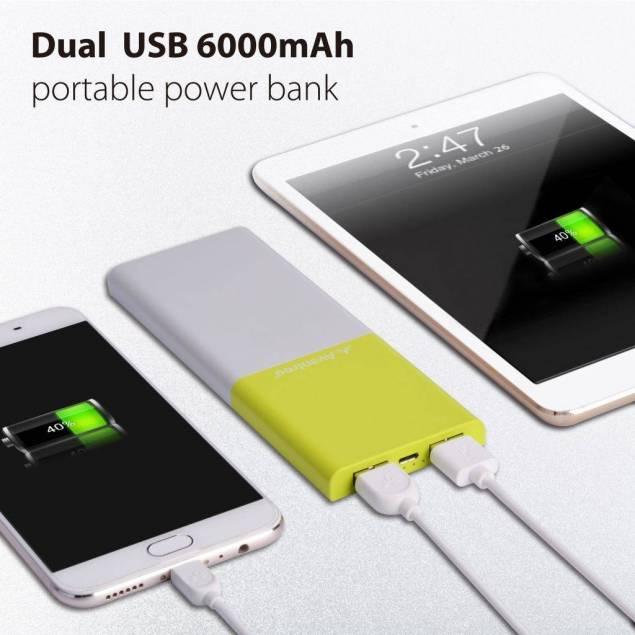 Image of   Avantree 6000mAh PowerBank