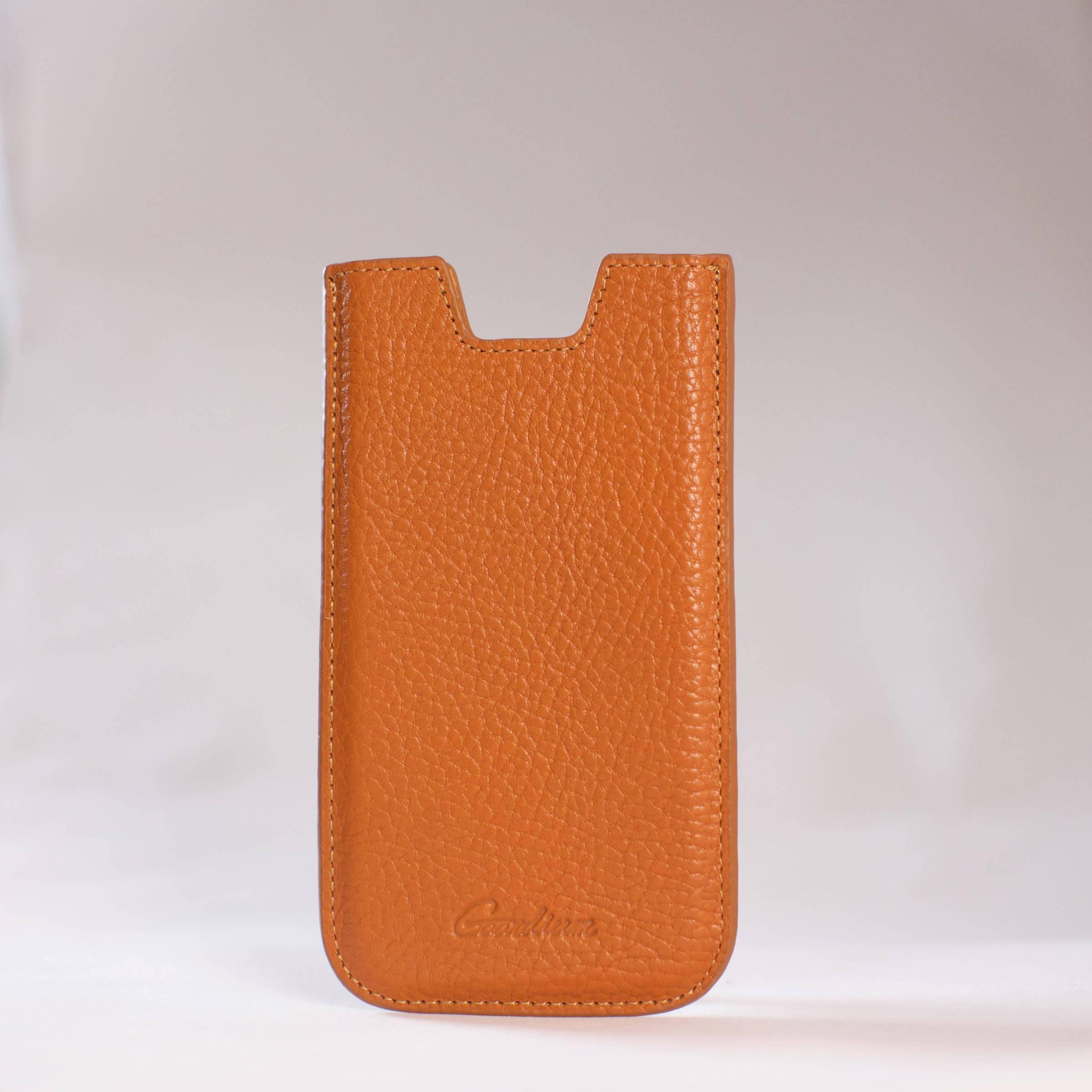 gaardium Gaardium sleeve iphone 6/6s/7/8 farve brun fra mackabler.dk