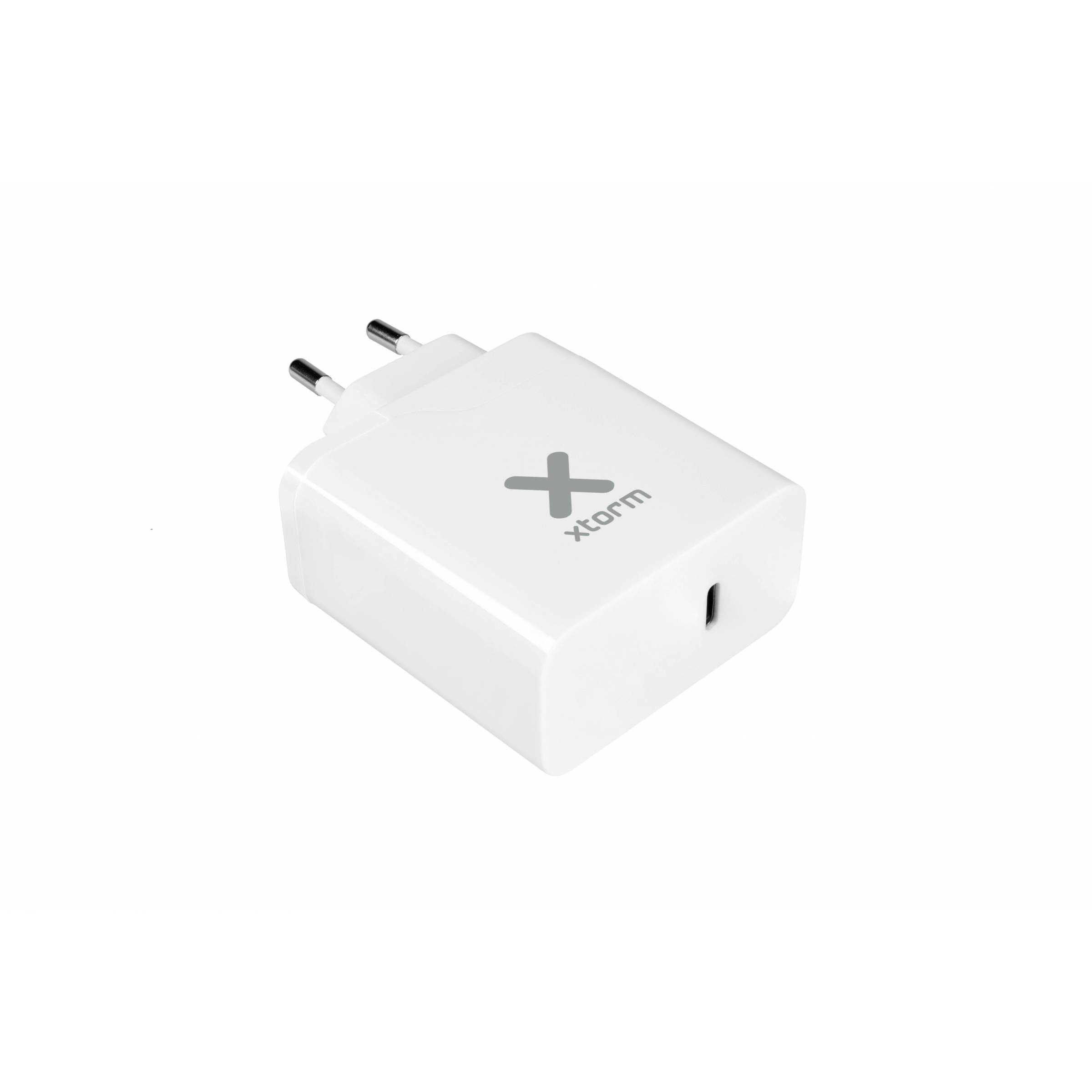 Xtorm usb-c oplader med 29w usb-c pd (iphone qc og macbook) fra xtorm fra mackabler.dk