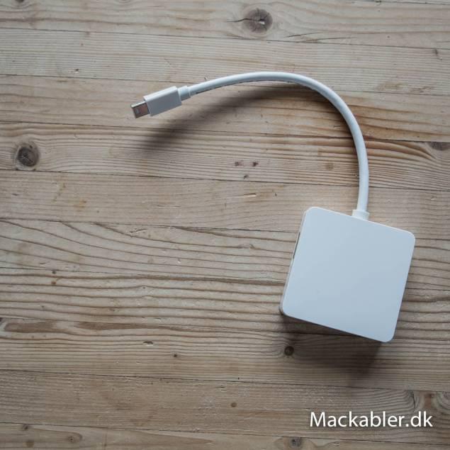 Image of   Mini Displayport til HDMI, Displayport og DVI (3 i 1)