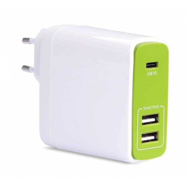 Avantree 50W USB-C & USB oplader (til macbook)