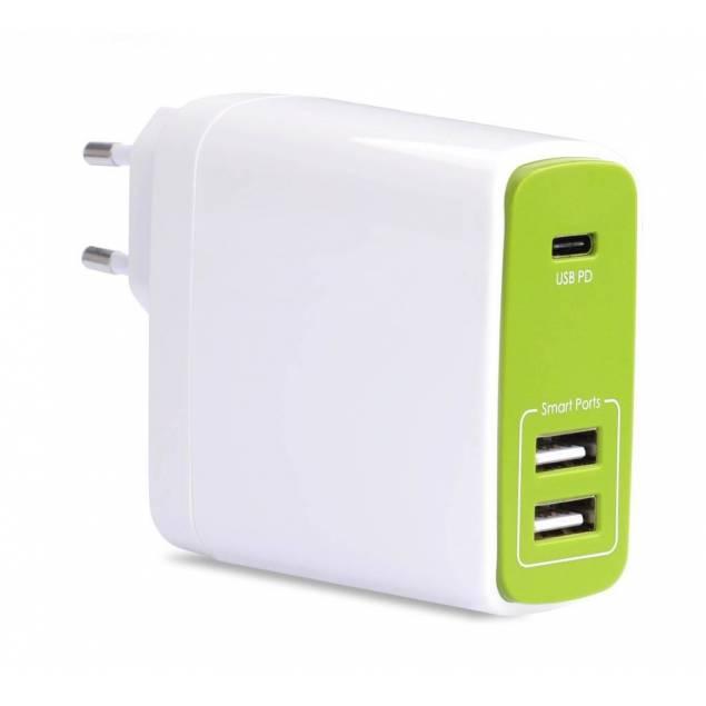 Avantree 50W USB-C & USB oplader (til macbook)