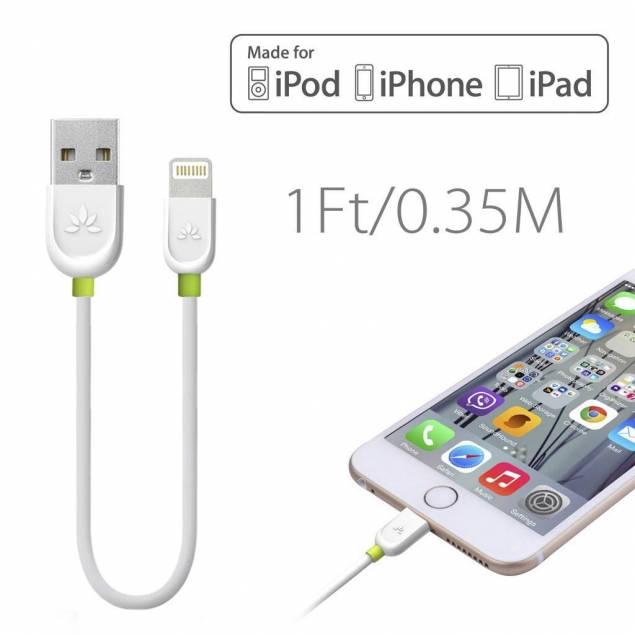 Image of   Avantree multi USB oplader + 5x MFi Lightning kabel