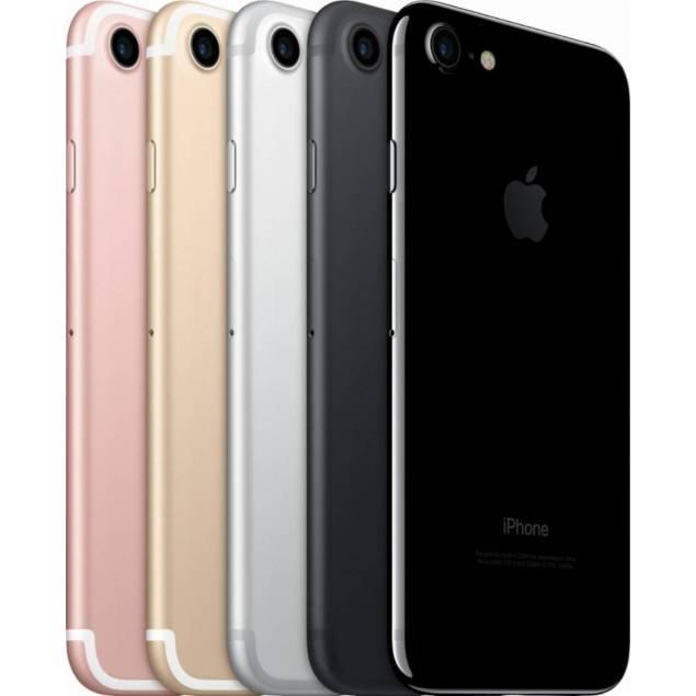 Apple iPhone 7 32/128/256gb – Hukommelses størrelse – 256GB, Farve – Jet sort