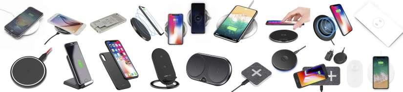 QI trådløs oplader til iPhone's