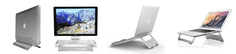 Macbook standere - gør dit skrivebord mere rydeligt!