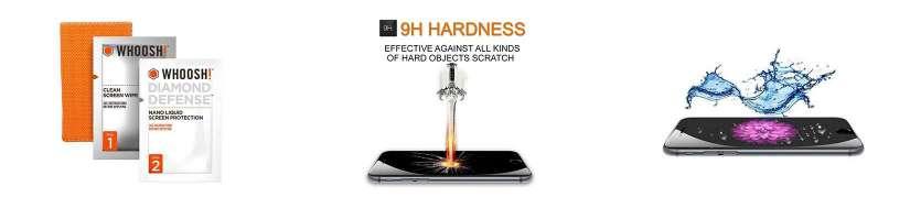 Flydende skærmbeskyttelse til iPhone og iPad