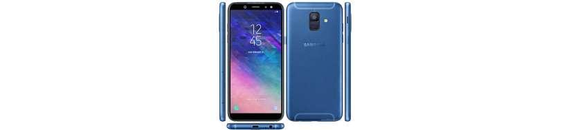 Samsung Galaxy A6 Tilbehør, Covers, Beskyttelsesglas, kabler, adaptere og Reparationsudstyr