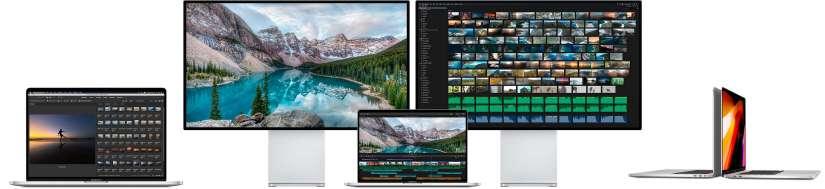 "Macbook Pro 16"" med Touchbar 4x TB3"