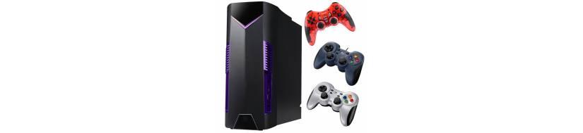 Controllere og gamepads til PC og computere