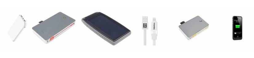 Batterier(Powerbanks) til iPhones og iPads