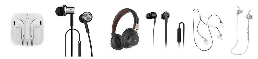 Headsets til iPhone, iPad og iPod