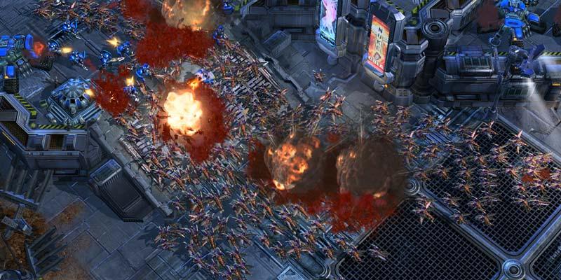 StarCraft II - Spil til Mac