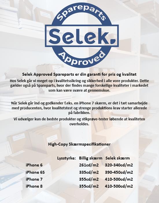 Beskrivelse af SELEK's test af deres skærme