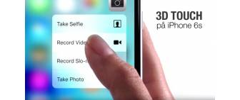 3D Touch på iPhone 6s
